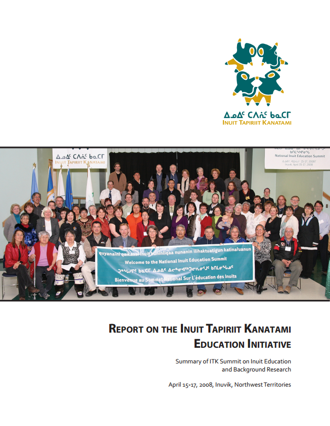 ITK Education Initiative, Education Accord and Summit Report