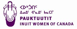 Pauktuutit Inuit Women of Canada Logo