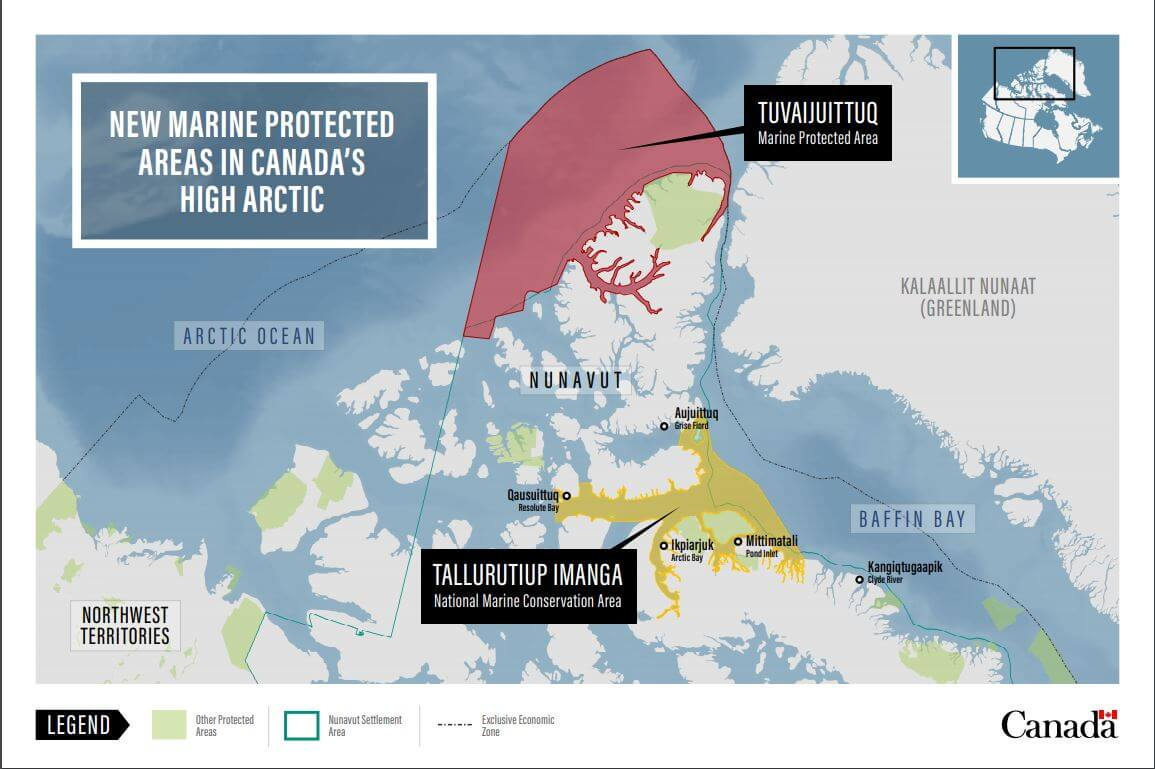 ITK Celebrates Announcement of Tallurutiup Imanga Marine Conservation Area